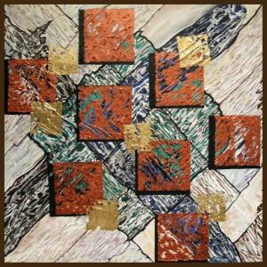 Quadrate, 60x60cm