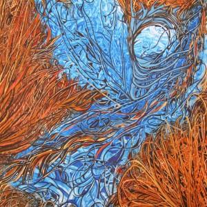 Blauer Engel, 70x100cm