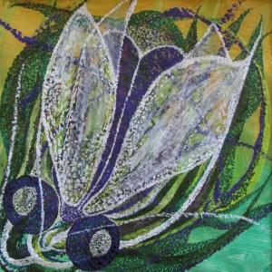 Insekt, 50x50 cm