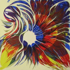 Sonnenfinsternis 2, 30x30 cm
