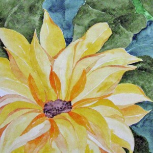 Sommerblume, 30x40 cm