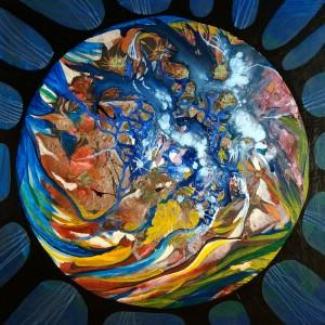 die Farben der Welt, 60x60 cm, Karton