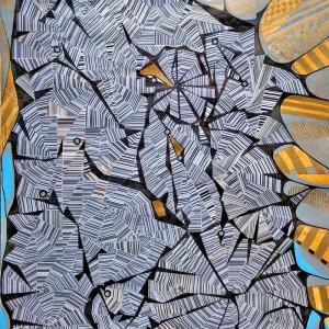 Ecken und Kanten, Collage, 40x60 cm