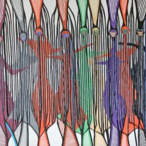 O.T. 50x90 cm, mixmedia, 06.2020