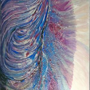 Licht und Schatten, Acryl auf Leinwand, 50 x 80 cm
