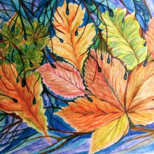 Herbst 2020, aquarell auf Papier